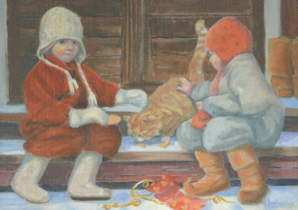 0085 Kissan joulu